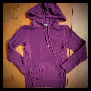 Purple Eddie Bauer hoodie